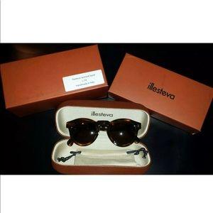 Illsteva Leonard Round Sunglasses